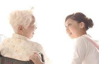 介護を行う介護士